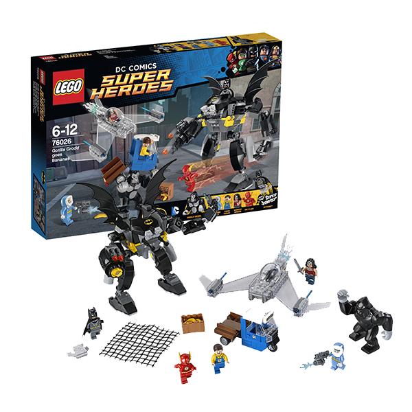 Lego Super Heroes 76026 Лего Супер Герои Свирепость Гориллы Гродда