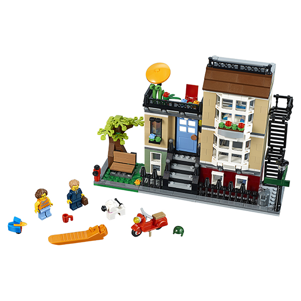 Lego Creator Домик в пригороде