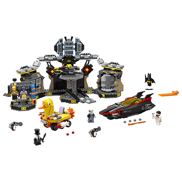 Lego Movie 70909 Нападение на Бэтпещеру