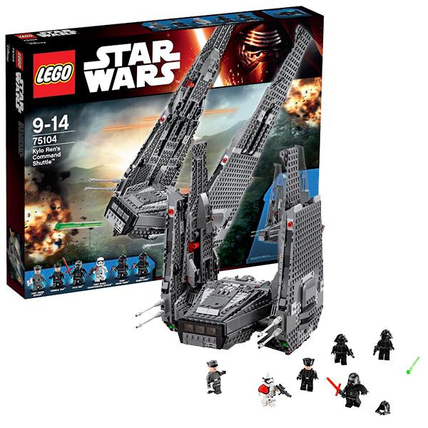 Lego Star Wars 75104 Лего Звездные Войны Командный шаттл Кайло Рена