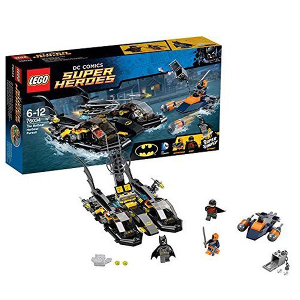 Lego Super Heroes 76034 Лего Супер Герои Бэтмен: Преследование на лодке