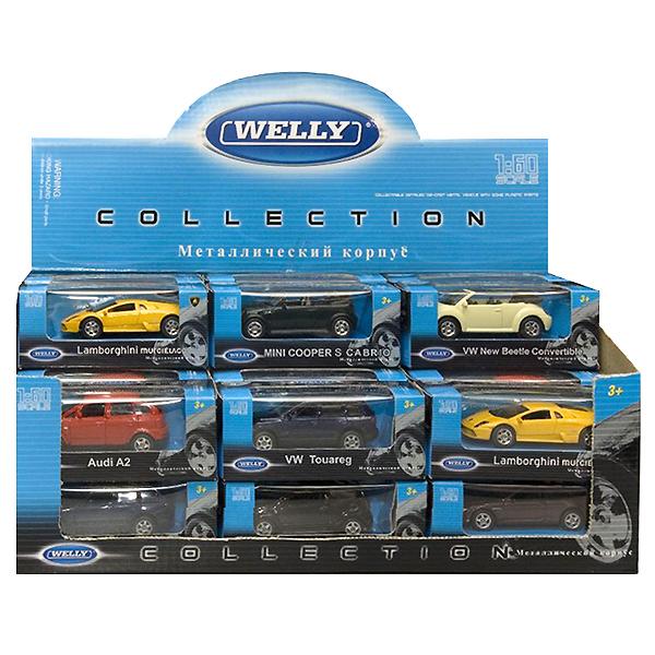 Модель машины Welly