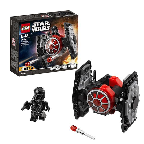 LEGO® Star Wars 75194 First Order TIE Fighter Microfighter 91 Teile ab 6 Jahr