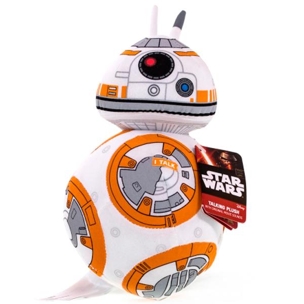 Star Wars SW01919 Звездные войны Эпизод 7 Дроид BB-8 плюшевый со звуком
