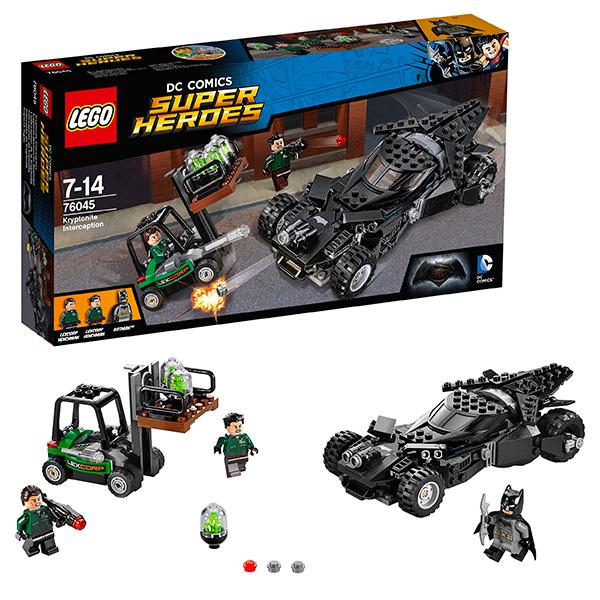 Lego Super Heroes 76045 Лего Супер Герои Перехват криптонита