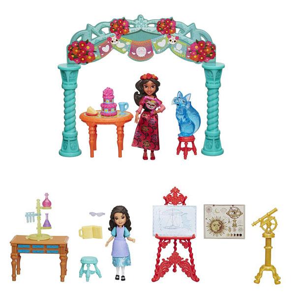 Hasbro Disney Princess C0383 Игровой набор для маленьких кукол Елена - принцесса Авалора