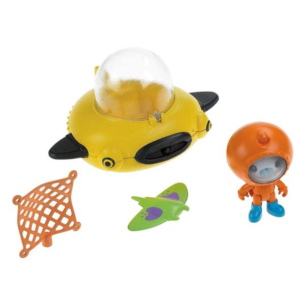 Mattel Octonauts T7015 Октонавты Капитан Барнакл и желтая подводная лодка