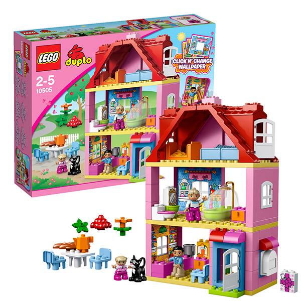 Лего дупло кукольный домик инструкция