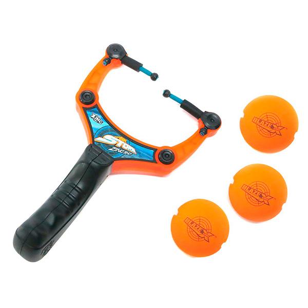 Zing AS972 Зинг Рогатка с 3-мя мягкими шариками