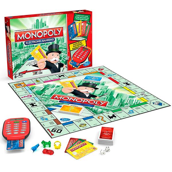 Monopoly A7444 Монополия с банковскими карточками