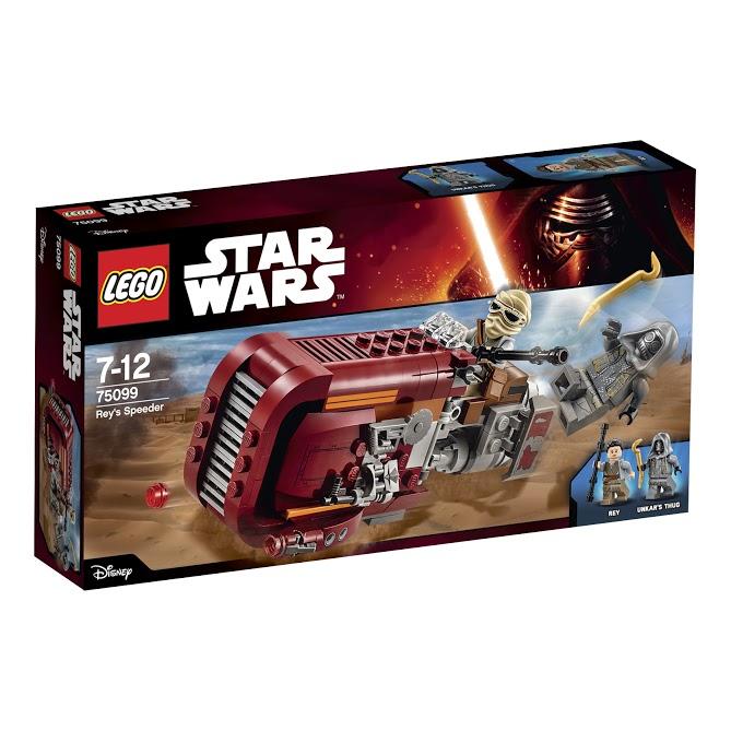 Лего Звездные Войны 75099 Спидер Рей