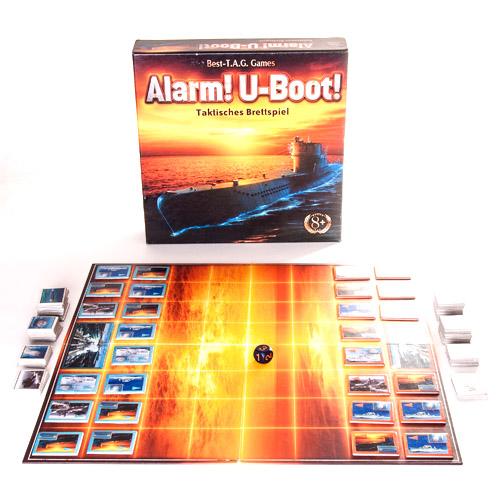 Настольная игра Alarm! U-boat! 4909282 Внимание! Субмарина!