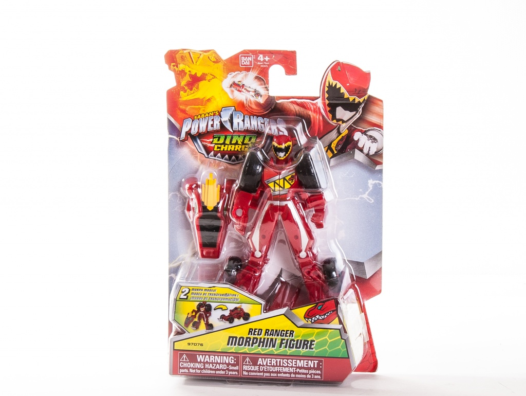 Power Rangers Dino Charge 97075 Пауэр Рейнджерс Машинка-трансформер