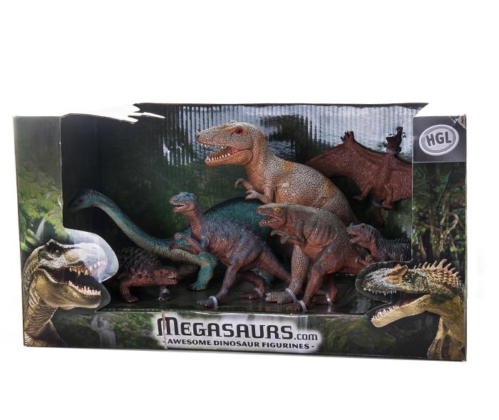Megasaurs SV10611 Мегазавры Игровой набор, 7 шт.