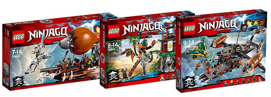 Конструкторы Lego Ninjago 2016