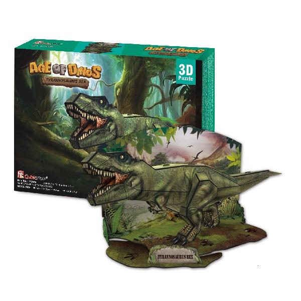 Игрушка Cubic Fun P668h Кубик фан Эра Динозавров Тираннозавр