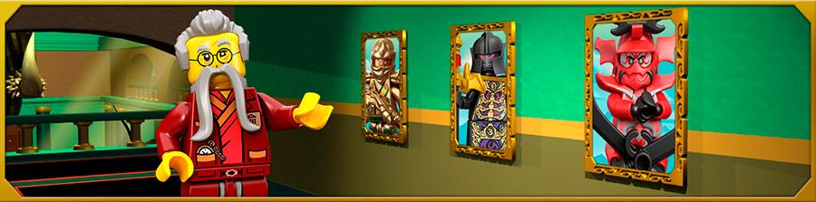 Новый сюжет и новые наборы Lego Ninjago