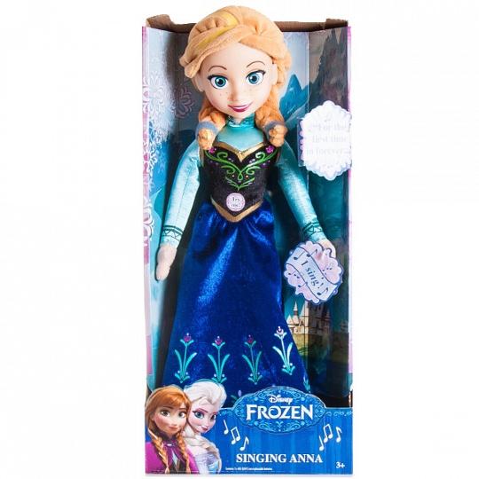 Disney 12960A Функциональная кукла Холодное сердце Принцесса Анна 35 см