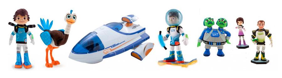 игрушки Майлз с другой планеты
