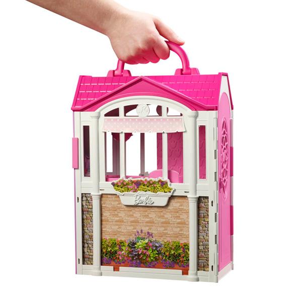 Переносной дом Барби