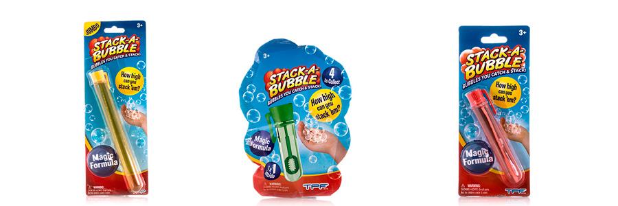 Застывающие мыльные пузыри Stack a Bubble