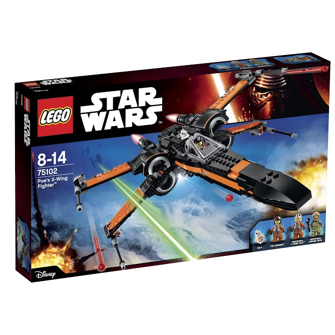 Лего Звездные Войны 75102 Истребитель По