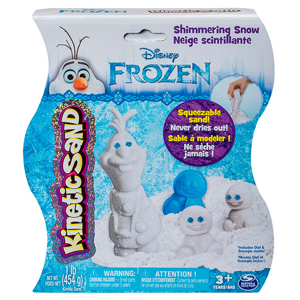 Кинетический песок Kinetic Sand Frozen