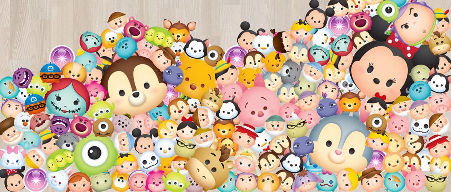 Коллекционные фигурки Tsum Tsum