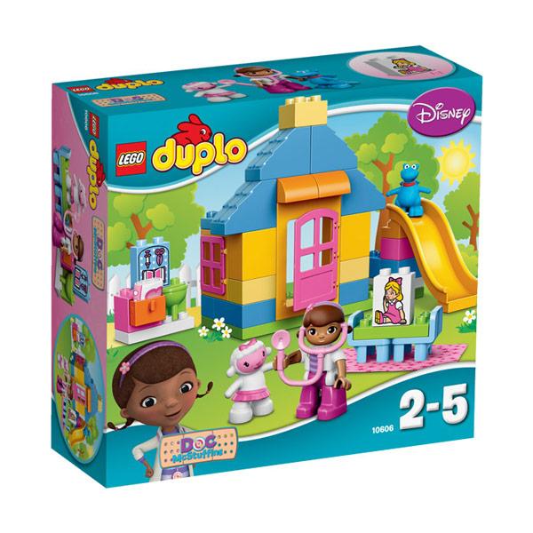Лего Дупло 10606 Доктор Плюшева: Клиника во дворе