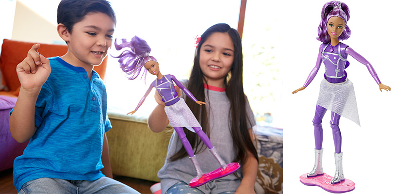 Barbie DLT23 Кукла с ховербордом