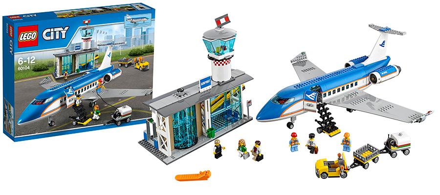 Новинка Lego City Лего Город Пассажирский Терминал