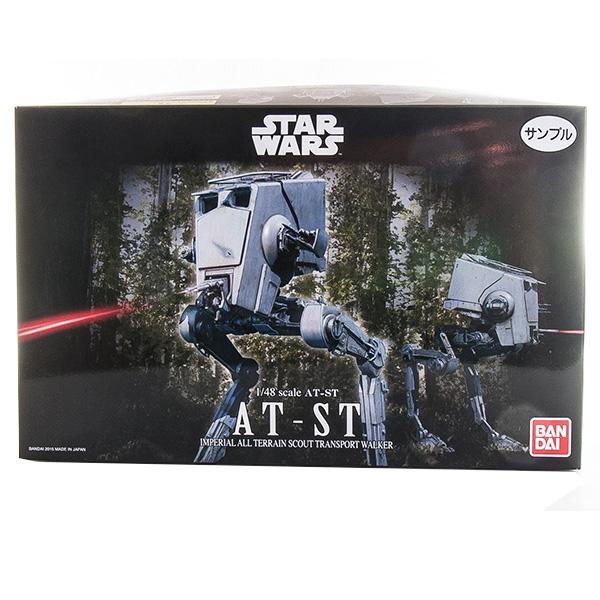 Star Wars Bandai 84613 Звездные Войны Сборная модель Шагоход AT-ST 1:48