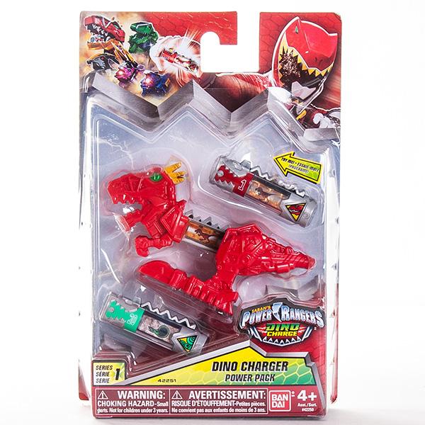 Power Rangers 42250 Пауэр Рейнджерс Дино-заряд (2 шт) и дино-аксессуар