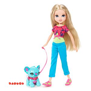 Кукла Moxie 519737 Мокси С питомцем, Эйвери + Медвежонок
