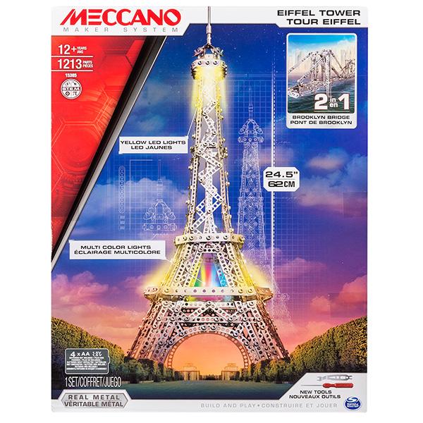 Meccano 91760 Меккано Набор Эйфелева башня (2 модели)