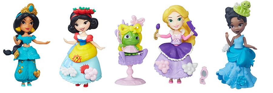 Мини куколки Принцессы Дисней от Hasbro