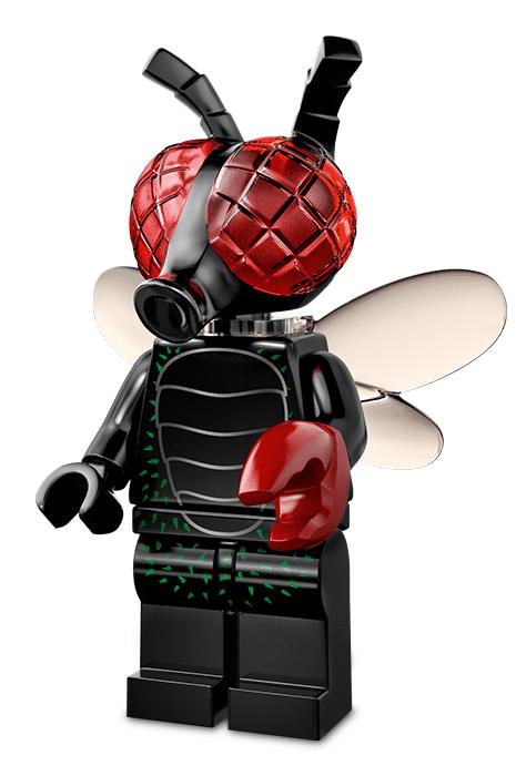 Лего серия 14 минифигурка Муха-Монстр