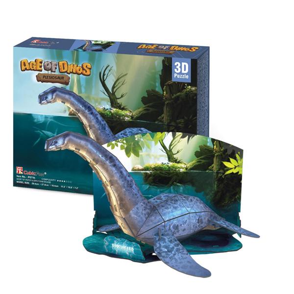 Cubic Fun P671h Кубик фан Эра Динозавров Плезиозавр