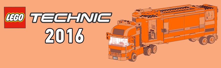 новинки Lego Technic 2016