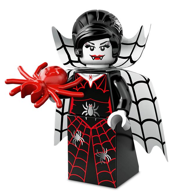 Лего серия 14 минифигурка Леди Паук