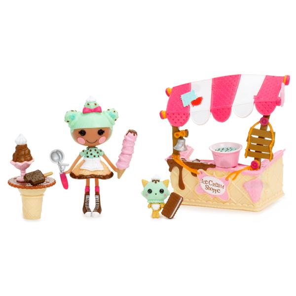 Lalaloopsy Mini 536567 Лалалупси Мини Интерьер, Магазин мороженого