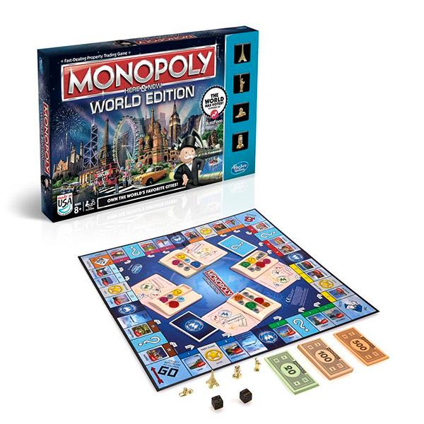 Monopoly B2348 Всемирная монополия