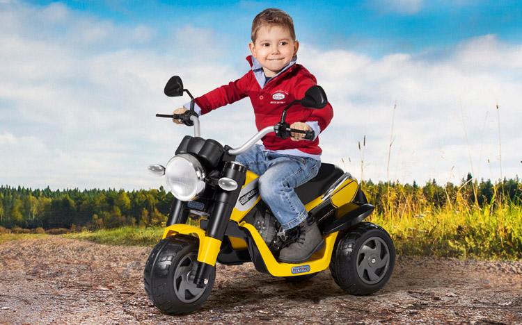 детский мотоцикл Peg-Perego Ducati Scrambler