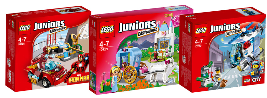 Конструкторы Lego Juniors 2016