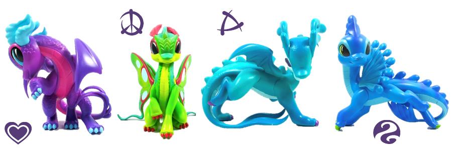 Коллекционные фигурки драконов