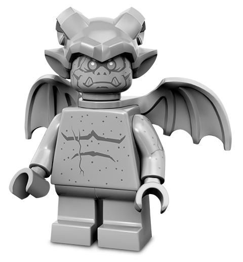 Лего серия 14 минифигурка Горгулья