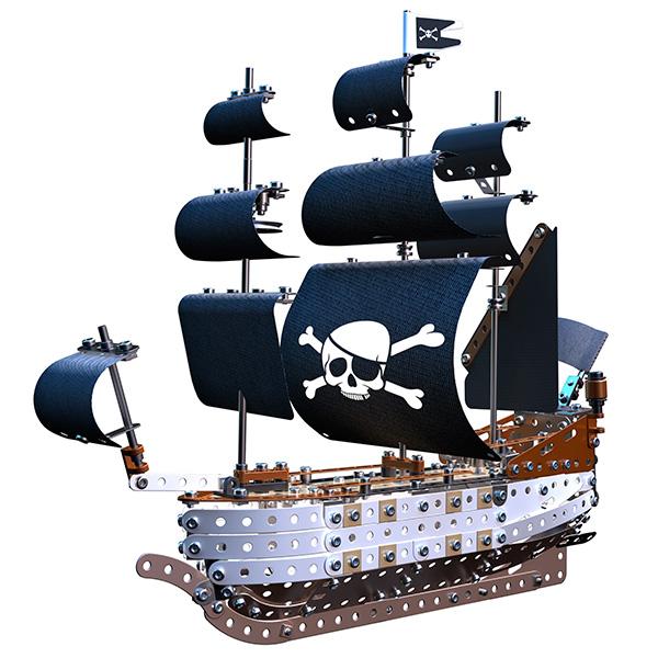 Meccano 91781 Меккано Набор Пиратский корабль