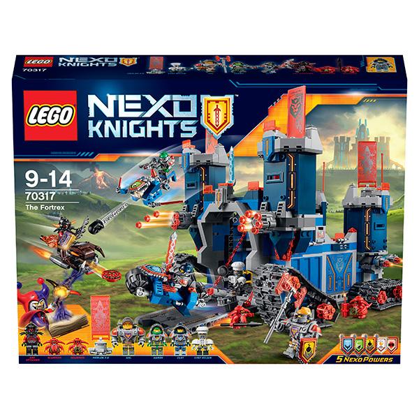 Lego Nexo Knights Лего Нексо Фортрекс - мобильная крепость