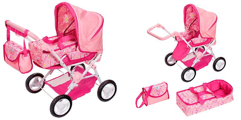 Большая коляска для кукол Baby Born и Baby Annabelle
