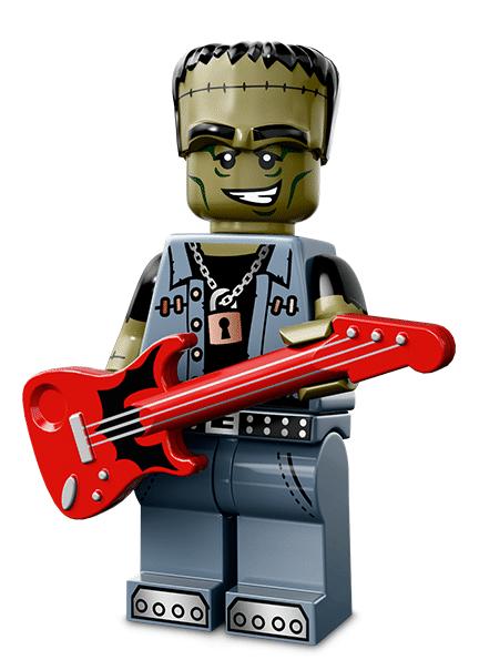 Лего серия 14 минифигурка Монстр-Рокер